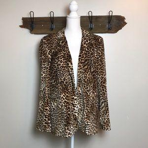 Cheetah Blazer Libby Edelman Leopard